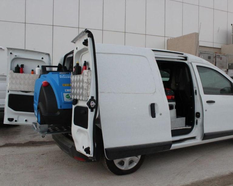 Full Mobile Car Wash Equipment Ready