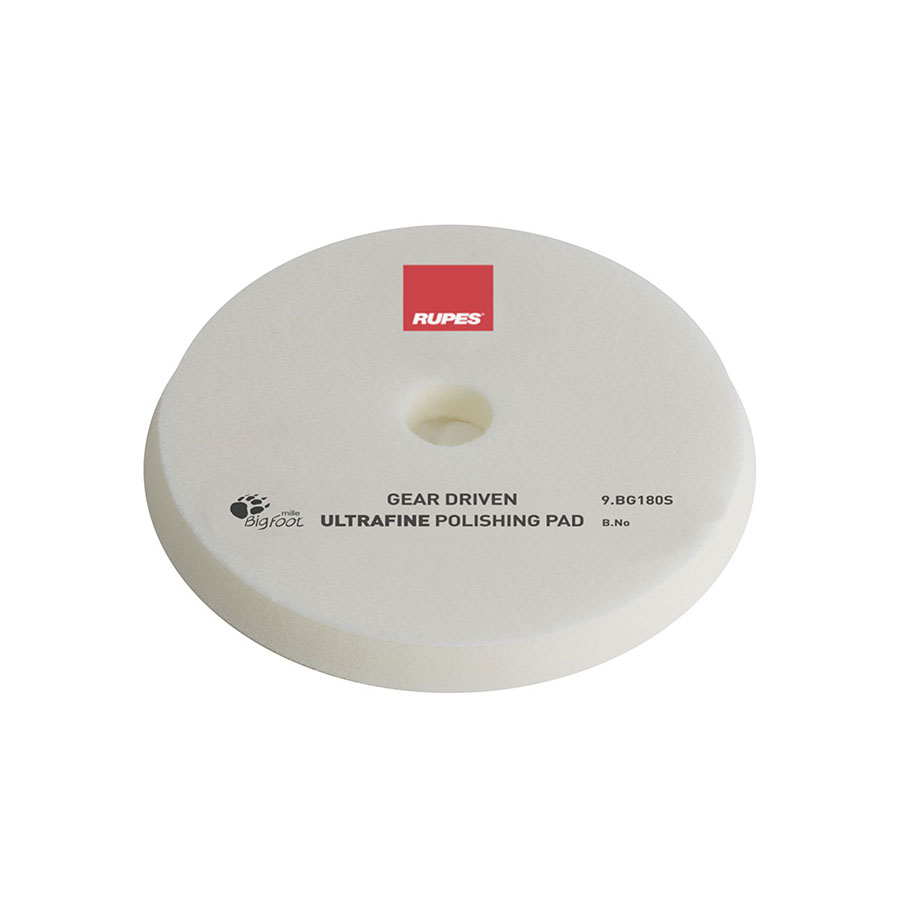 Polishing Pad White Ultra Fine For Gear Driven