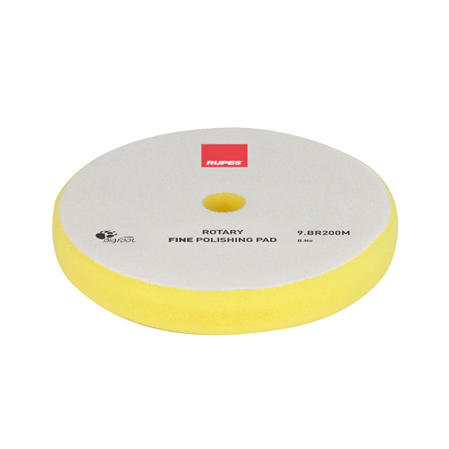 Polishing Pad Yellow Fine Rotary
