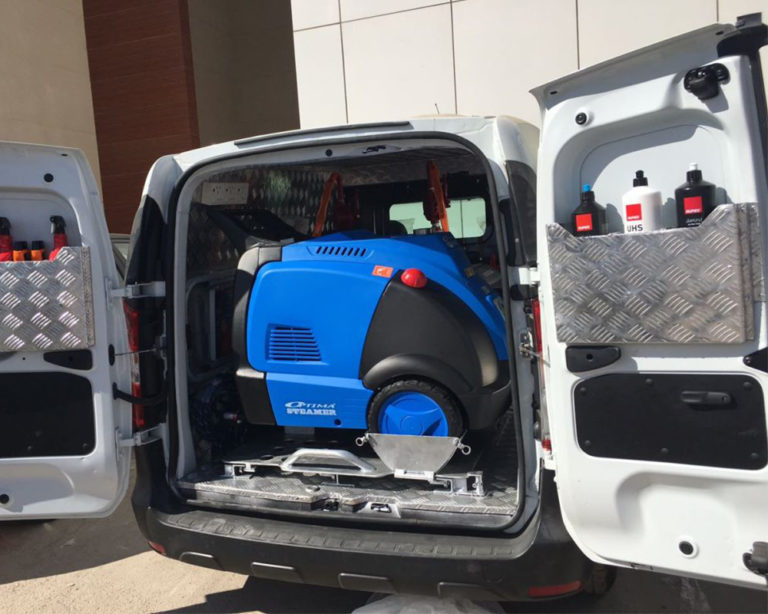 Full Mobile Car Wash Equipment Ready-2