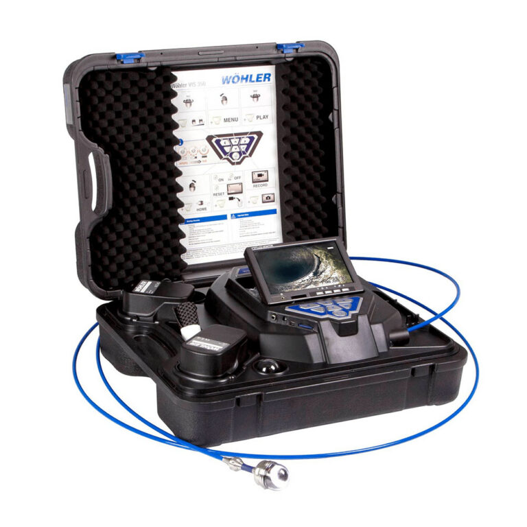 Pressovac VIS350 inspection camera